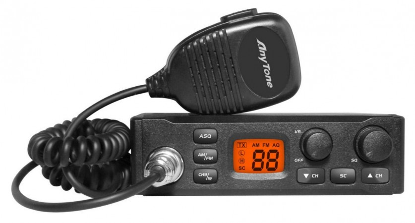 CB Radio with Antenna Kit