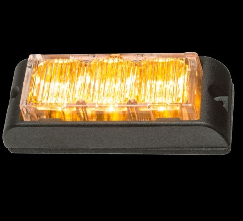 12v E3 Amber LED Grill Light - Single