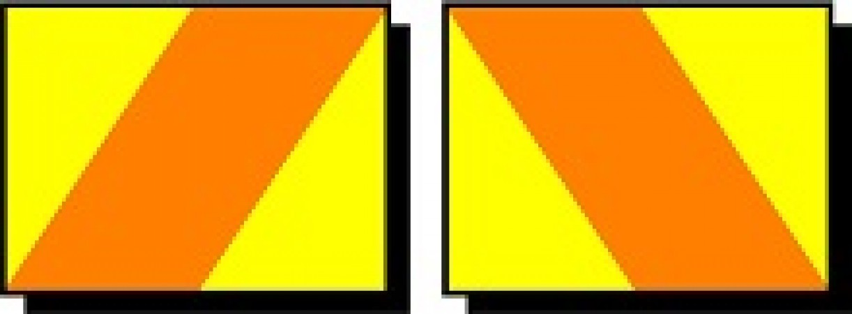 Chevron Hazard Panel (Set of Two)